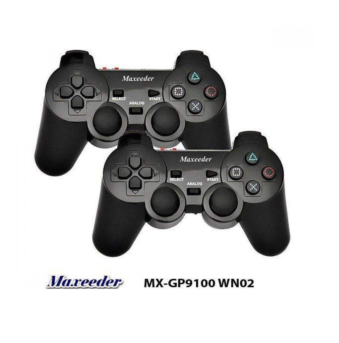 دسته بازی بی سیم مکسیدر مدل MX-GP8110 WN12 بسته دو عددی