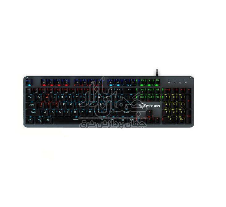 کیبورد گیمینگ مکانیکالمیشن مدل MK007