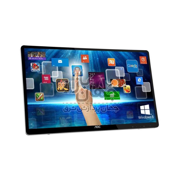 مانیتور لمسی AOC E2472PWUT صفحه نمایش 24 اینچ