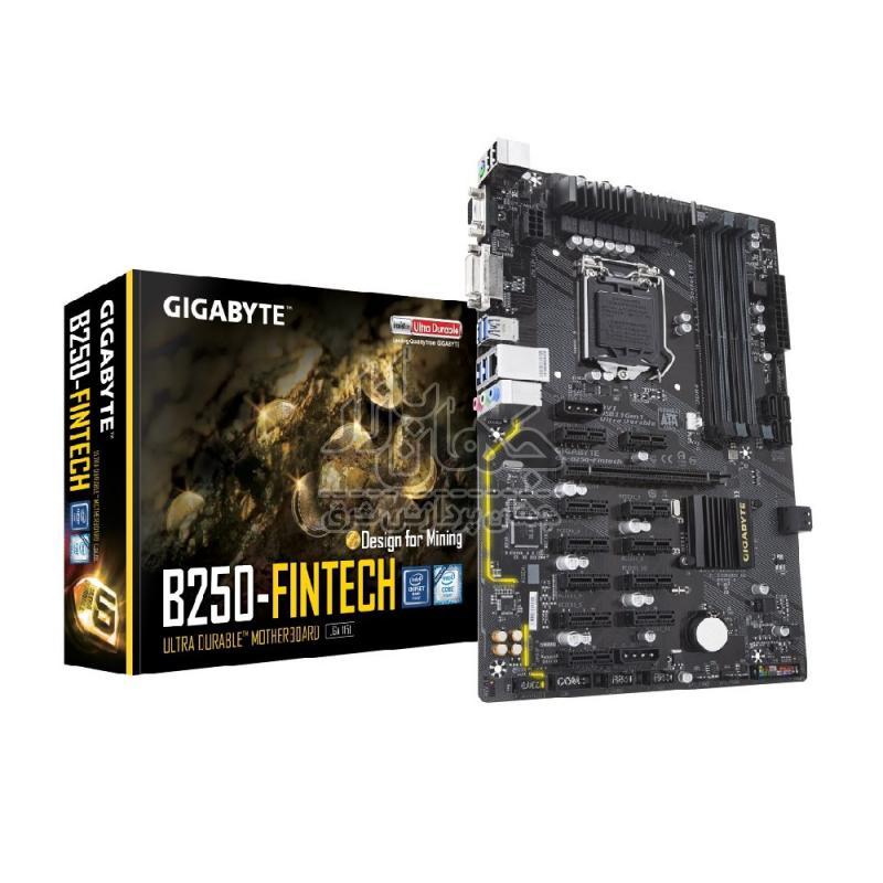مادربرد ماینینگ گیگابایت GigaByte GA-B250-FinTech