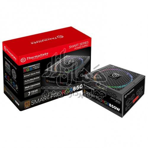 پاور فول ماژولار 850 وات ترمالتیک Smart Pro RGB 850W Bronze