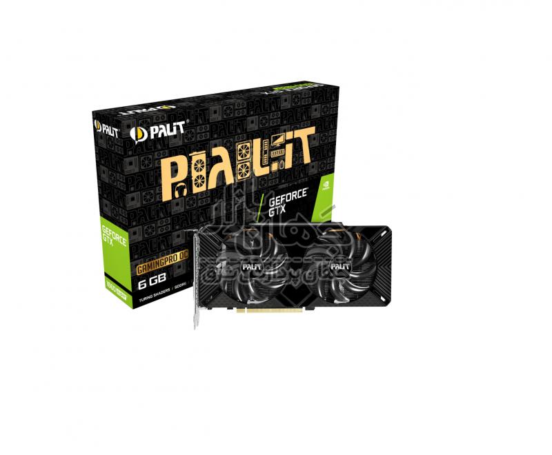 کارت گرافیک گیمینگ پلیت Palit GTX 1660 SUPER Gaming Pro OC
