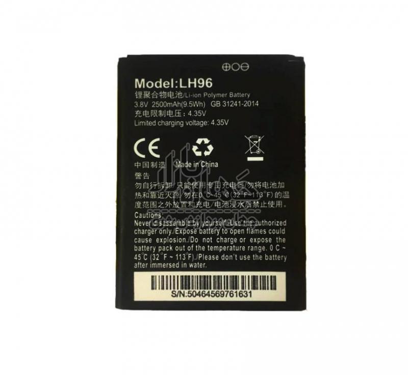 باتری مودم همراه ایرانسل مدل LH96 ظرفیت 2500 میلی آمپر ساعت