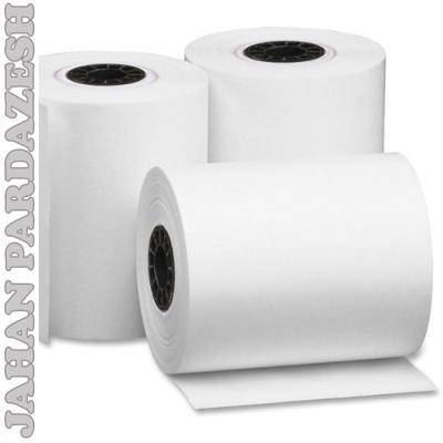 کاغذ فیش پرینتر با عرض 8 سانت