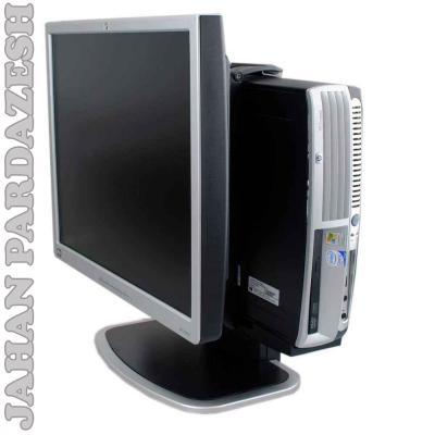 کامپیوتر بامانیتور17  ال سی دی all in one7700 HP dual,2,160