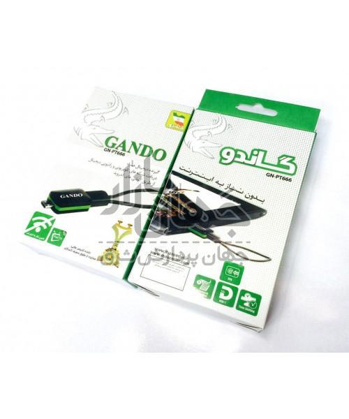 گیرنده دیجیتال اندروید PAD TV-Gando GN-PT666