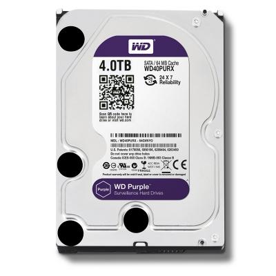 هاردديسک ظرفيت 4 ترابايت اينترنال وسترن ديجيتال سری بنفش Purple-اصلی