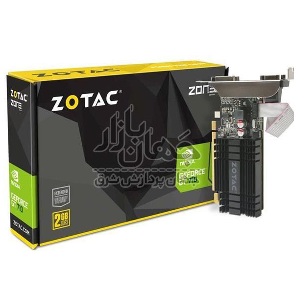 کارت گرافیک زوتاک مدل GT710  ZT-71302-2GB-64Bit