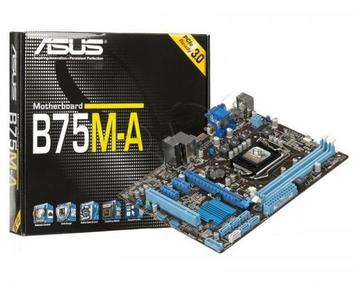 مادربرد ایسوس مدل  B75M-A LGA 1155