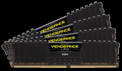 رم کرسیر مدلCorsair Vengeance LPX DDR4 16GB (8GB x 2) 3200MHz CL16 Dual Channel Desktop Ram