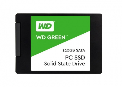 حافظه اس اس دی وسترن دیجیتال مدلWestern Digital Green 120GB Internal SSD Drive