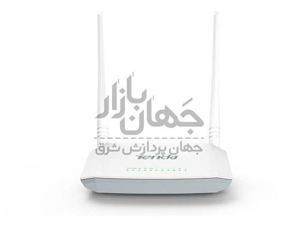 مودم +ADSL2 وایرلس 4 پورت تندا مدل D301 V2
