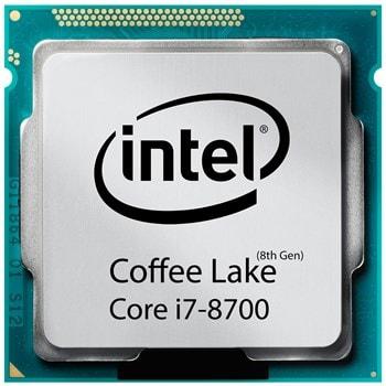 پردازنده اینتل سری Coffee Lake مدل Core I7  8700 | (Core i7-8700)