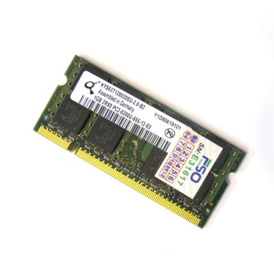رم 1 گیگابایت استوک لپ تاپی باس800 تمیز DDR2 Hp