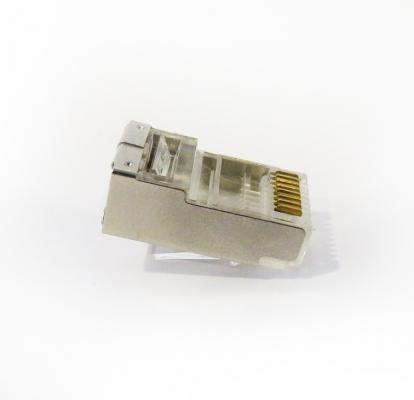 سوكت Cat5 كابل شبكه با روکش فلزی