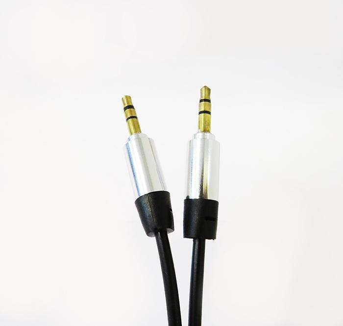 کابل صدا یک به یک فنری پی نت طول 1 متر