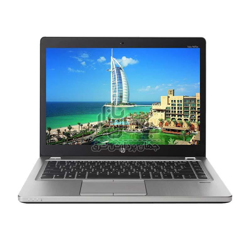لپ تاپ استوک 14 اینچ اچ پی مدل HP 9470M