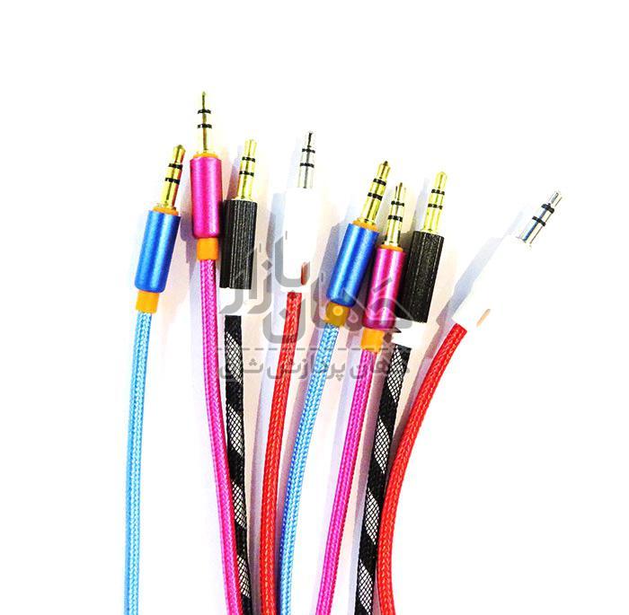 کابل صدا یک به یک کنفی رنگی
