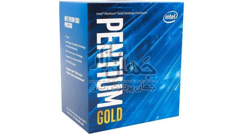 پردازنده اینتل سری PENTIUM GOLD مدل G5400 BOX