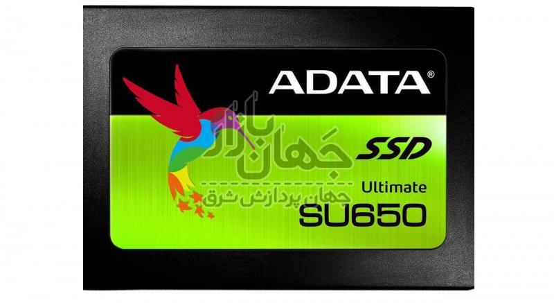 حافظه اس اس دی ای دیتا مدل SU650 ظرفیت 240 گیگ