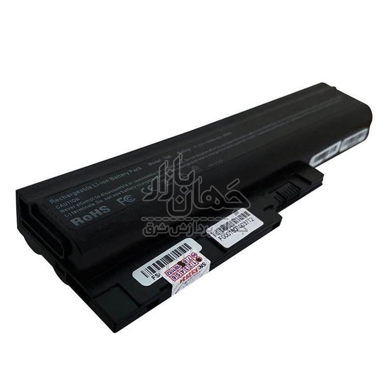 باتری لپ تاپ لنوو 6 سلولی مدل Lenovo Thinkpad T60