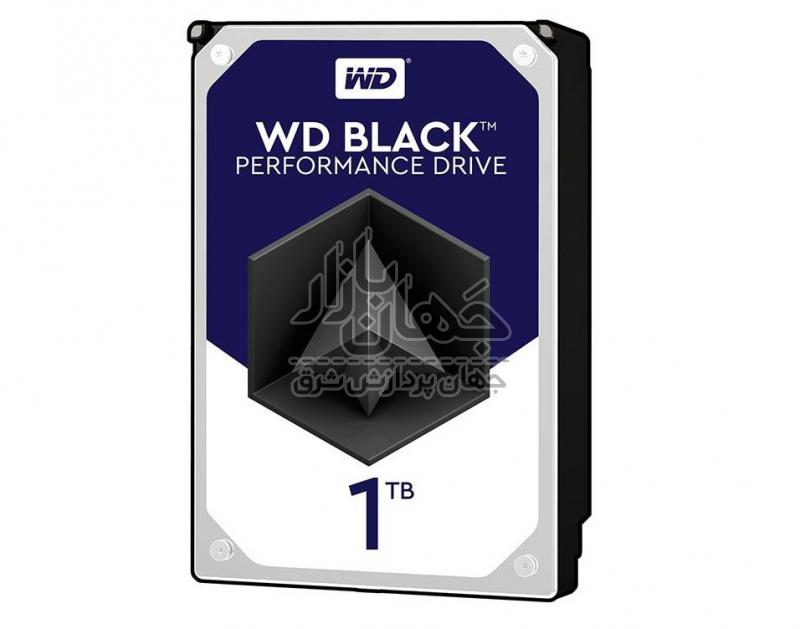 هارد اینترنال وسترن ديجيتال مشکی مدل WD1003FZEX ظرفیت 1 ترابایت