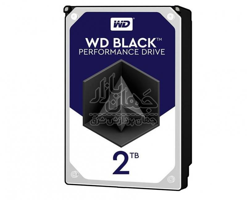 هارد اینترنال وسترن ديجيتال مشکی مدل WD2003FZEX ظرفیت 2 ترابایت