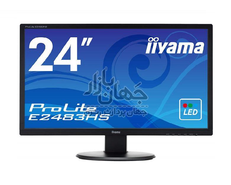 مانیتور استوک 24 اینچ آیاما مدل IIYAMA E2483HS