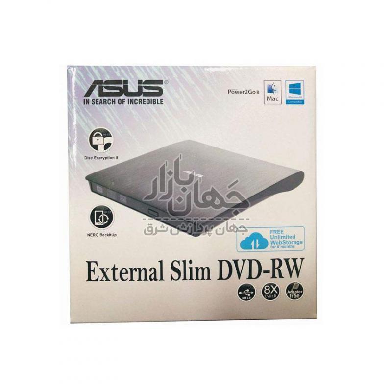 درایو DVD اکسترنال ایسوس مدل SDRW08D