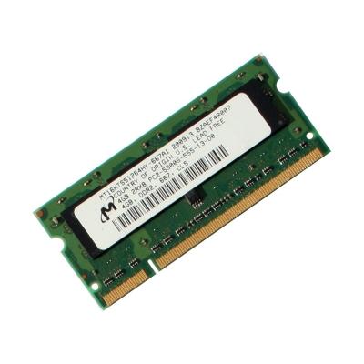 رم استوک لپ تاپ RAM 2GBDDR2ظرفیت 2 گیگابایت برند میکس