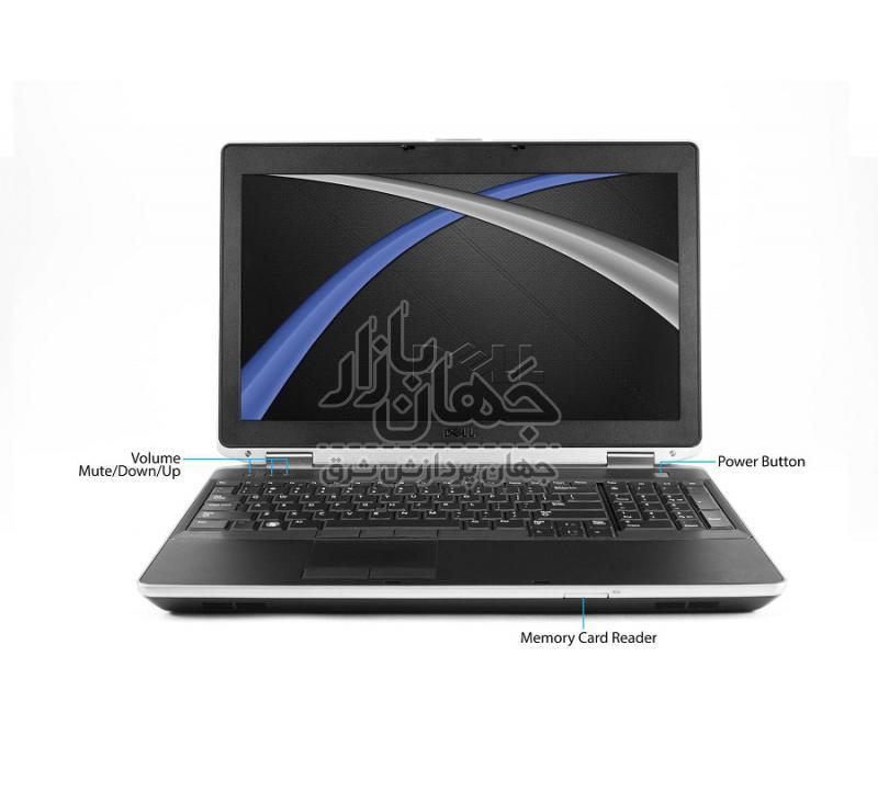 لپ تاپ استوک 15 اینچ دل مدل Dell E6530