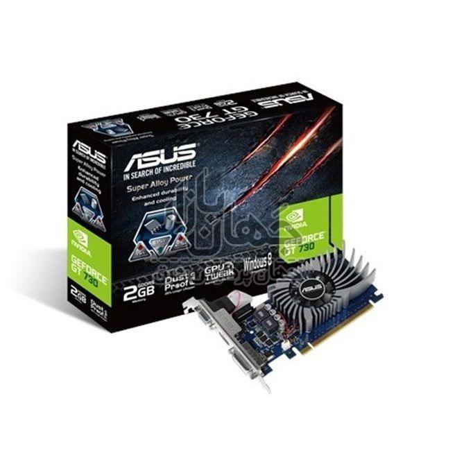 کارت گرافیک استوک ایسوس مدل ASUS GT730 2GB DDR5