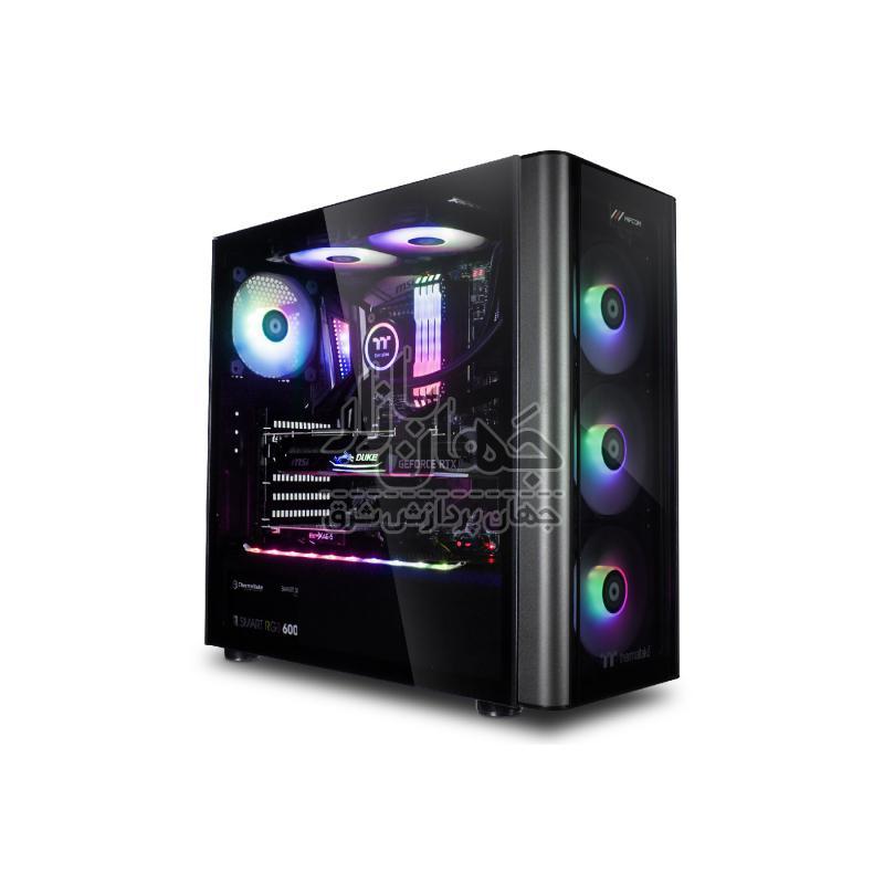 سیستم کامپیوتر گیمینگاستوک باپردازنده Core i7 9700f و گرافیک 1070 8GB