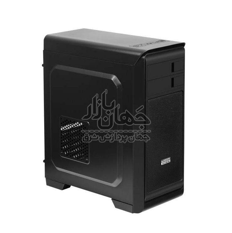 سیستم کامپیوتر گیمینگ استوک با پردازنده Core i3 9100F و گرافیک asus RX570 4gig