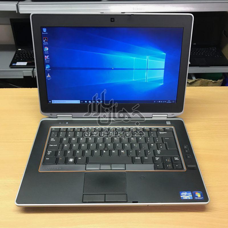 لپ تاپ استوک قدرتمند دل Dell latitude E6420 با پردازنده Core i7