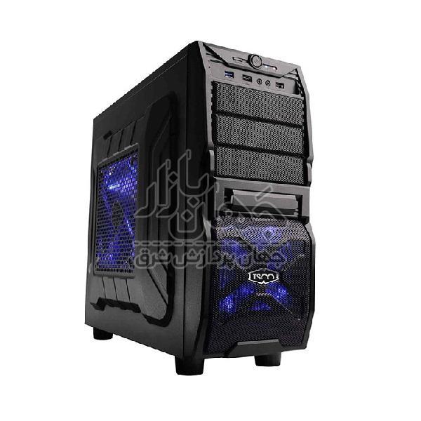 سیستم کیس کامپیوتر گیمینگ استوک با پردازنده Core i7 4770 و گرافیک XFX RX580 8GB