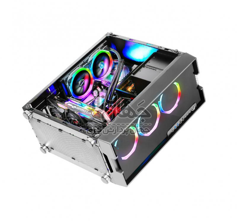 سیستم کامپیوتر گیمینگ حرفه ای با پردازنده i9 9900K و گرافیک Asus 1070 8GB