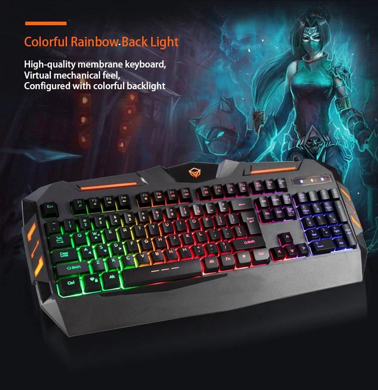 کیبورد گیمینگ میشن Meetion MT-C500 Gaming Keyboard
