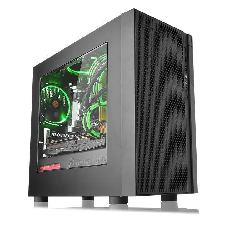 سیستم کامپیوتر گیمینگ ورسا i3 9100F گرافیک GTX 1660 6GB با کیس شیشه ای